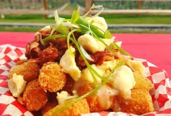 """Tot Poutine with Pulled """"Pork"""""""